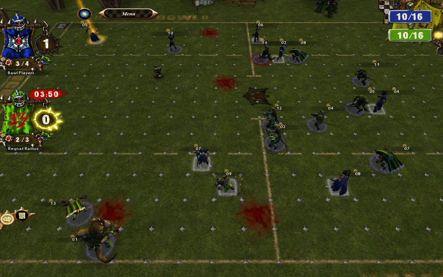 You're the Skaven.  2D blitz the ball carrier with the least amount of 2+ rolls.