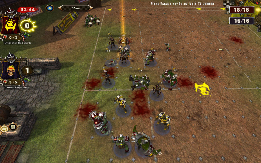 You're the Orcs.  This is the last turn.  Score the TD!
