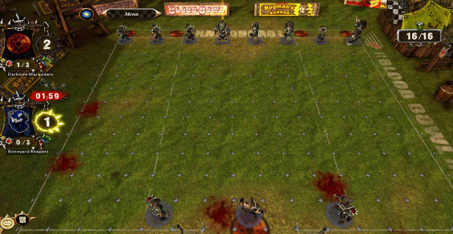 You're the Undead? Setup your roster to score the one turn touchdown!