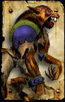 Blood Bowl Necromantic Werewolf