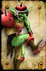 Blood Bowl Orc Goblin