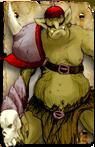 Blood Bowl Orc Troll