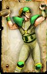 Blood Bowl Wood Elf Thrower